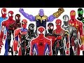 Marvel Avengers Spider Man Army VS Thanos And Giant Dinosaurs Army Battle DuDuPopTOY mp3