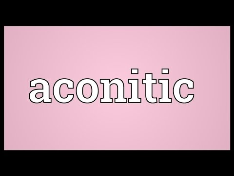 Header of aconitic