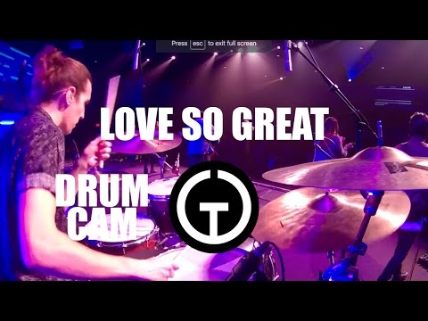 Love So Great - Hillsong Worship (Drum Cam) thumbnail