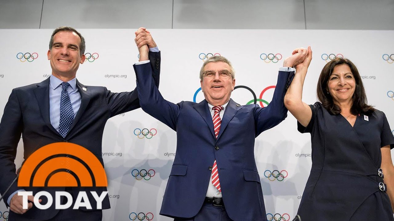 Los Angeles Mayor Eric Garcetti Says 2028 Olympics Are 'A Huge Win' For The US | TODAY