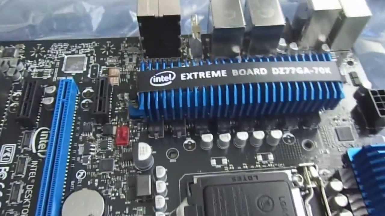 Intel Extreme Motherboard Dz77ga-70k Placa Mãe Intel Dz77ga-70k