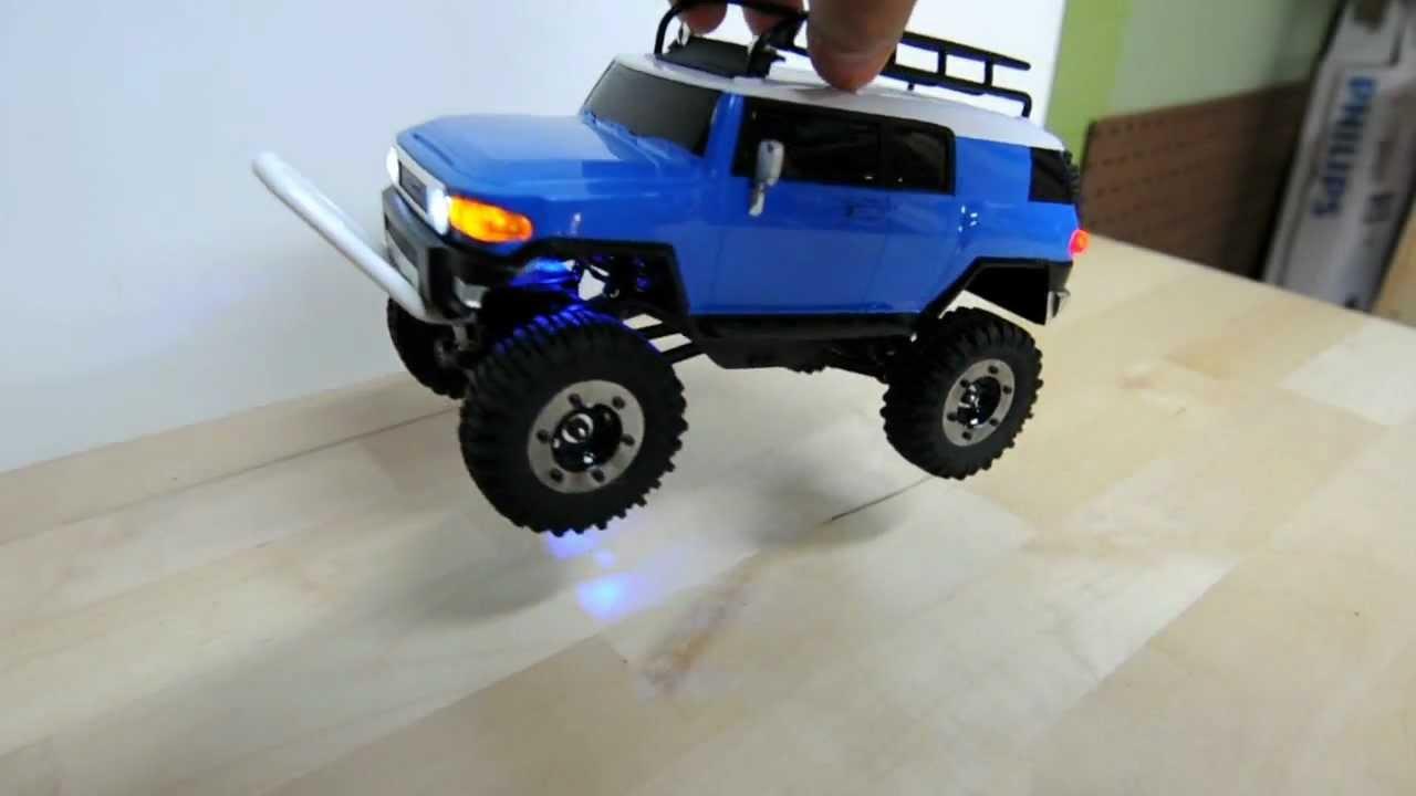 1 24 Scale Losi Micro Crawler Trail Trekker Toyota Fj