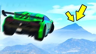 HOW FAR CAN YOU FLY IN GTA? (GTA 5 Funny Moments)
