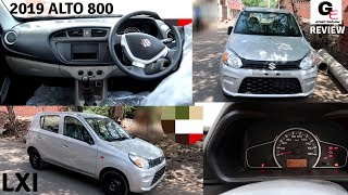 2019 Maruti Suzuki Alto 800 LXI 🔥   new interiors   ABS   EBD   airbag   detailed review !!!!