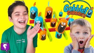 Gobblet Gobblers GOBBLE UP GAME! HobbyFamily Game Time Family Fun HobbyKidsTV