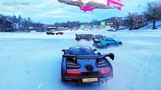 FORZA HORIZON 4 - NEW GAMEPLAY WORLD PREMIERE  REVIEW E3 2018