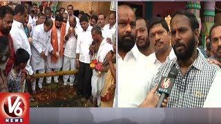 Khairatabad Ganesh 2018 Idol Construction Works Begins | Hyderabad