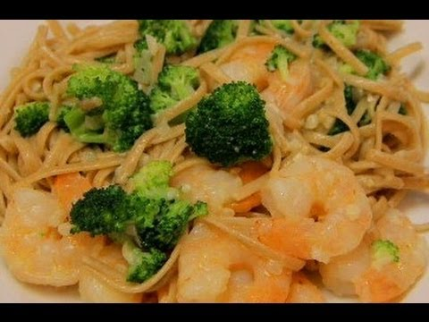 Easy Shrimp Linguine