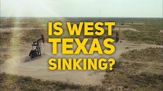 Is Texas sinking?