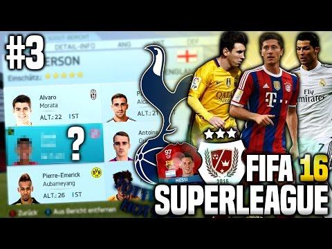 MEHR TRANSFERS!? 1. SPIELTAG! - FIFA 16 SUPERLEAGUE KARRIEREMODUS #3 | MANCHESTER UNITED KARRIERE