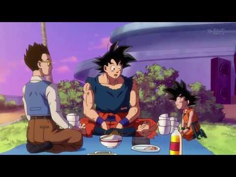 Goku, Gohan & Goten moment DBS