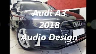 Audi A3 sedan 2018 - Desbloqueio do DVD em movimento, câmera de ré, com sistema de áudio hi-fi