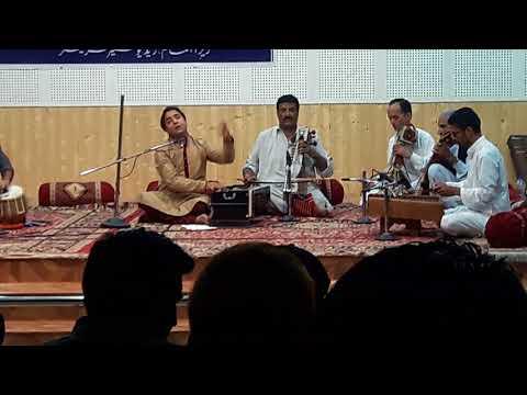 Ishtiyak Tulla Live in concert,  song Setha yech kael laj az zeer sazas
