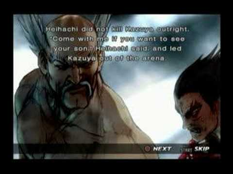 Tekken 4: Heihachi Prologue and Epilogue