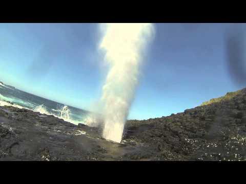Small blow hole kiama nsw youtube