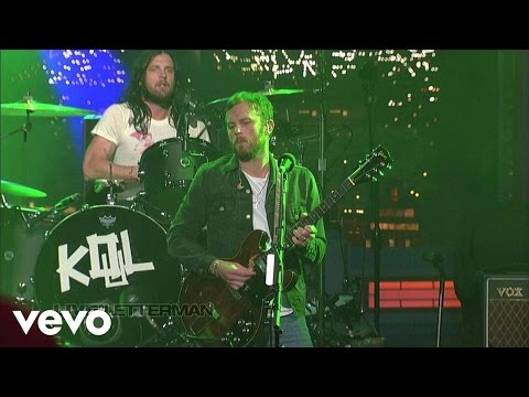 Kings Of Leon - Supersoaker (Live @ Letterman, 2013)