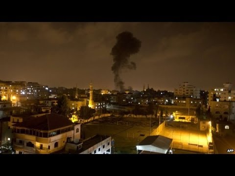Rockets hit Israel as Hamas vows revenge for Gaza strikes