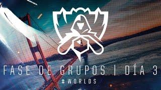 Campeonato Mundial 2016: Fase de Grupos, Día 3