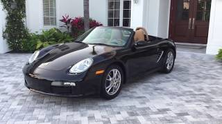 2008 Porsche Boxster Review and Test Drive by Bill - Auto Europa Naples