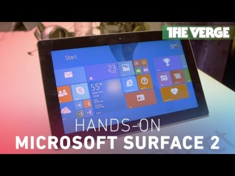 Surface 2: hands-on with Microsoft's new Windows RT tablet that 'doesn't slow down'