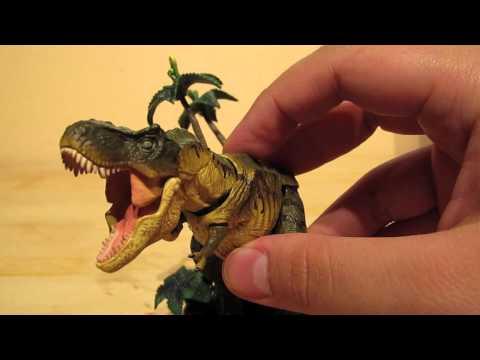 sci-fi revoltech t-rex review