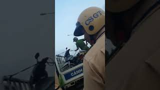 Việt TV- CSGT lập chốt sai tuyến, xin biên bản mãi không cho