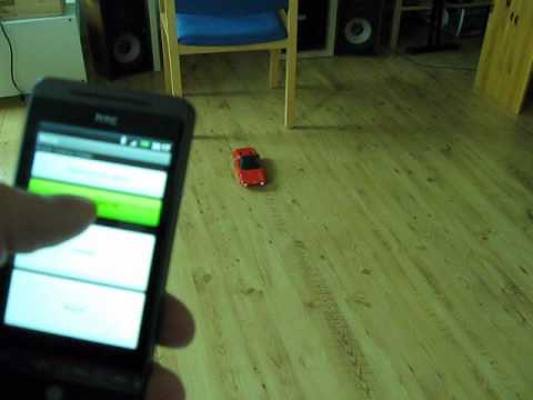 Bluetooth Car (ATtiny2313) controlled with Android phone Music Videos
