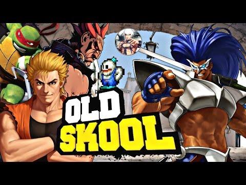 Colección Old School para Tiger Arcade 3.1.3 2016