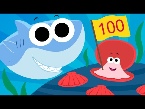 Download  Let's Count To 100 | ft. Finny the Shark | Super Simple Songs Gratis, download lagu terbaru