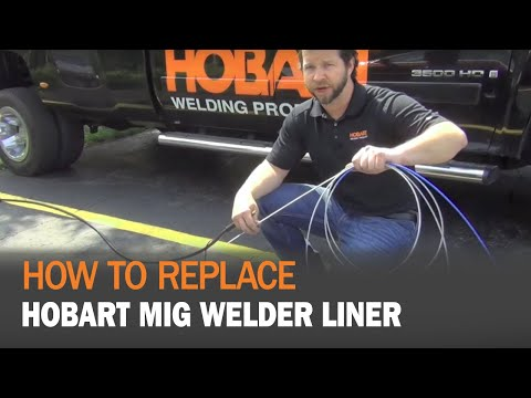 How To Replace a Hobart MIG Welder Liner