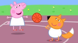 Peppa Pig Português Brasil 🏀 AULA DE GINÁSTICA 🏀 Peppa Pig