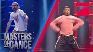 Sebastian vs. Dennis: Breakdance at it's best! Wer kommt weiter? | Masters of Dance | Audition