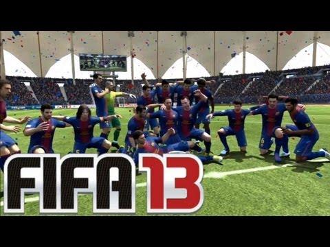Fifa 13 | Trainerkarriere Modus + El Clásico Pokalfinale [King Fahd Stadium]
