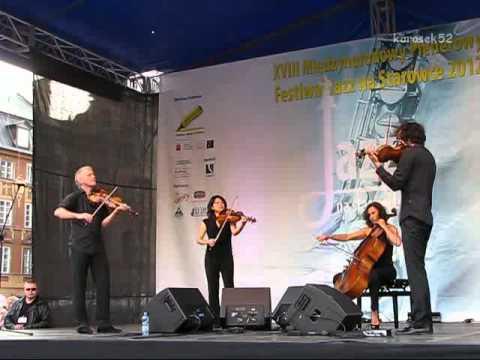 Radio.String.Quartet.Vienna. live - XVIII Festiwal Jazz na Starówce 2012 (2/3)