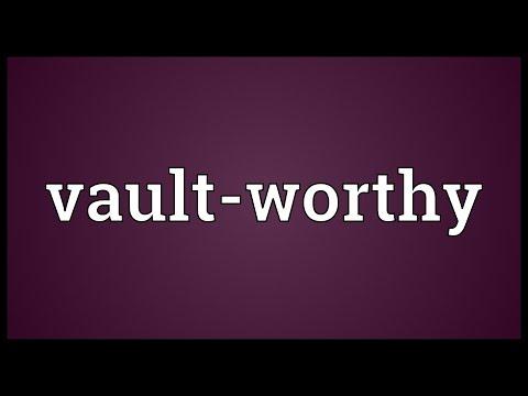 Header of Vault-Worthy