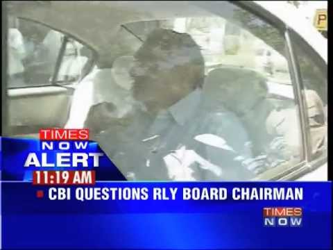 CBI questions Railway board chairman