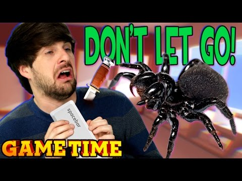 SPIDERS ON OUR FACES!! (Gametime w/ Smosh Games)