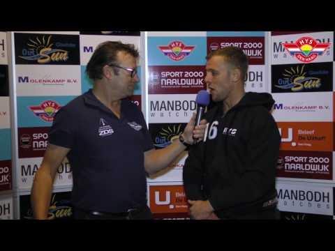 Interview na de wedstrijd Hijs Hokij Den Haag vs IJV Amstel Tijgers