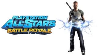 PlayStation All Stars Battle Royale walkthrough - part 1 Cole story infamous series