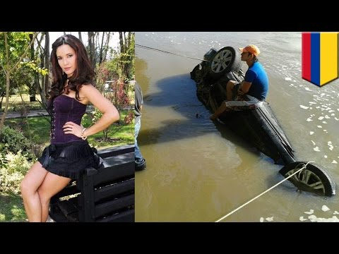 Adriana Campos dead: Colombian TV star and husband killed in car river plunge - TomoNews