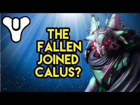 Destiny 2 Lore The Fallen Joined Calus!?