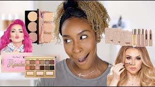 How Many Makeup Collabs Can I Feature in ONE VIDEO?! | Jackie Aina