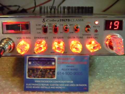 COBRA 29 LTD CLASSIC WITH RFX-150 BUILT FOR RADIO