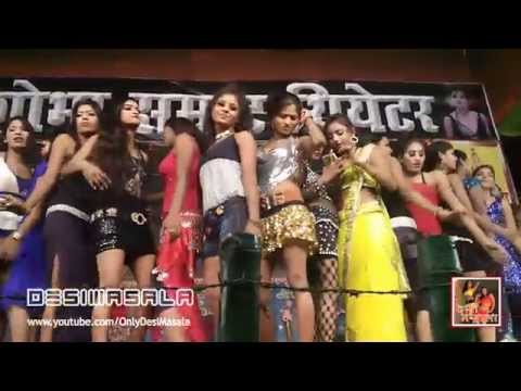 Hot and Sexy Item Dancers in Sonepur Mela Theater