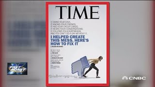 Time magazine takes aim at Facebook, but the stock doesn't care