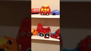 Super wing Lego Peppa Pig recovery all toys for kids on the shell