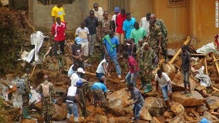 At least 300 dead in Sierra Leone mudslides
