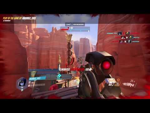 Widowmaker sharpshooter POTG hell yeah
