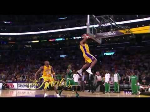Shannon Brown Dunks Game 6 Finals 2010 Video