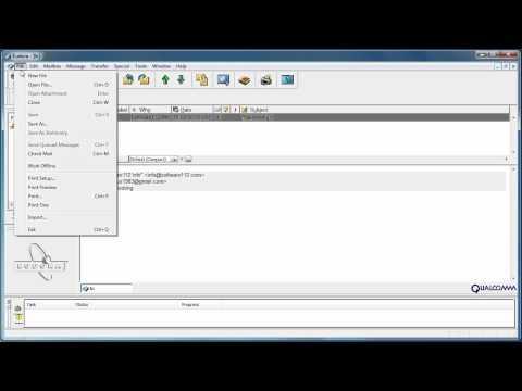 Convert e-mails from Eudora to PDF files